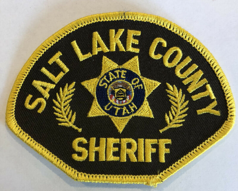 Salt Lake County Utah Sheriff Patch