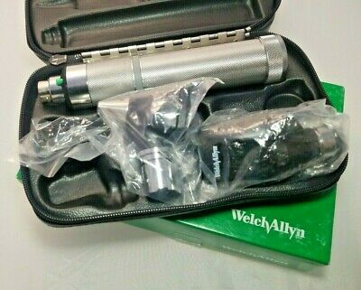 Welch Allyn 3.5v Student Diagnostic Set Otoscope Ophthalmoscope - Complete Set