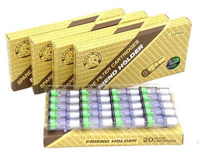 100 Filter für Zigarettenspitze Friend Holder Mini !