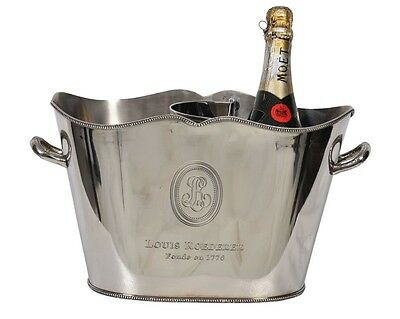 Wine/Champagne Ice Bucket~Silver Plated~Wine Cooler~bar equipment~catering 16
