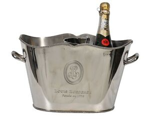 Wine Champagne Ice Bucket Silver Plated Cooler Bar Equipment Catering