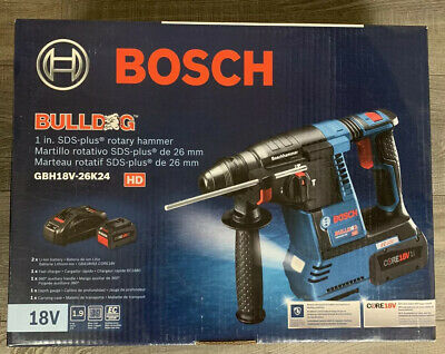 Bosch Gbh18v-26k24 Bulldog Sds Plus Rotary Hammer