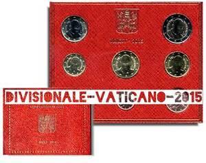 DIVISIONALE-UFFICIALE-MONETE-EURO-VATICANO-PAPA-FRANCESCO-ANNO-2015