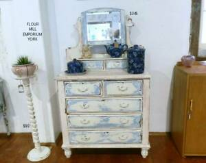 Upcycled Chest of Drawers Dresser - Flour Mill Emporium York