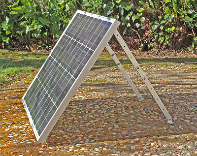 - Solar Panel Adjustable Tilt Mount for RV's, Roof and Ground Mounting (No Panel)