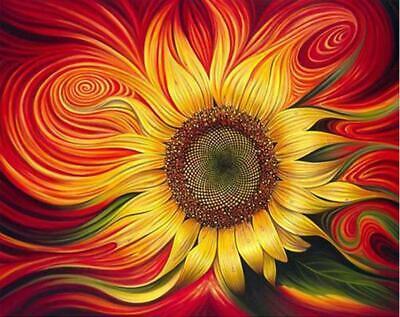 Sunflower Sun - Van-Go Paint-By-Number Kit
