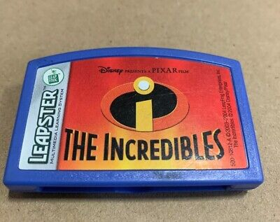 Leapfrog Leapster 2 L Max Game Buy 4 Get One Free! Disney The Incredibles - Buy The Incredibles
