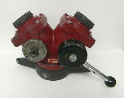 Akron Brass 1582 2-way Wye Suction Siamese Valve Firefighting Equipment