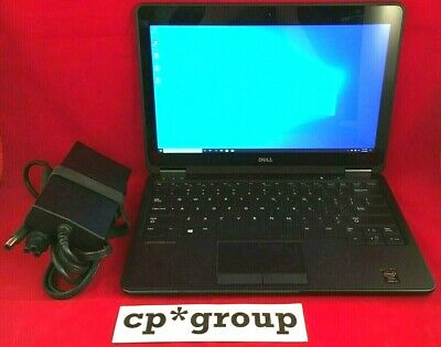 Dell Latitude E7240 i5-4300U 1.9GHz 8GB RAM 128GB SSD Win 10 Pro W/ PWR
