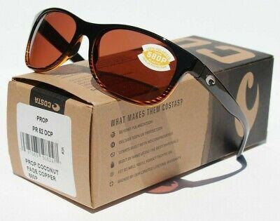 COSTA DEL MAR Prop 580P POLARIZED Sunglasses Coconut Fade/Copper 580 NEW (Costa Prop)