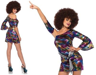 Disco Chick Costume (Disco Chick Costume, 8-14, 60's, 70's, 80s Party, Leg Avenue, Retro Groovy)