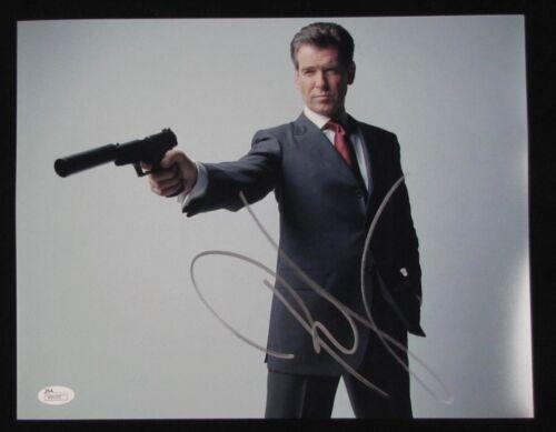Pierce Brosnan James Bond 007 JSA 11x14 Autograph Signed Photo