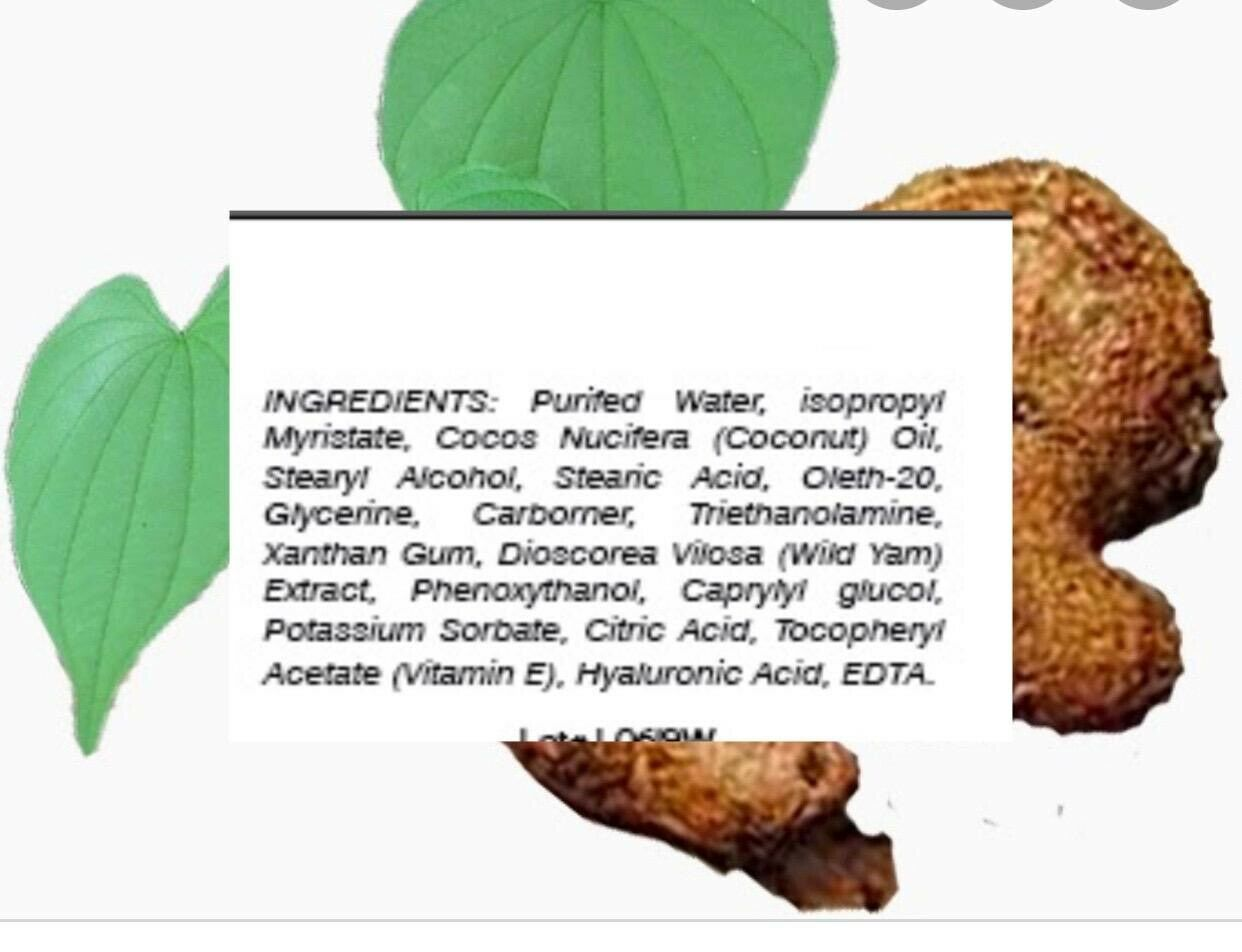 2 Natural Progesterone 1000mg Cream Xtra strength certificate Feminine Balance  3