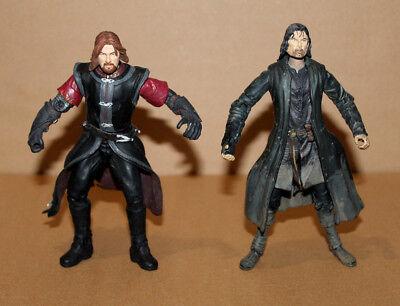 The Lord of the Rings / Der Herr der Ringe Aragorn & Boromir Figure 2001 Marvel