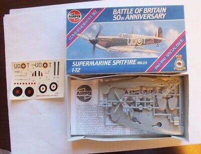 Airfix Battle of Britain 50th Anniversary Supermarine Spitfire Mk 2A. Series 2
