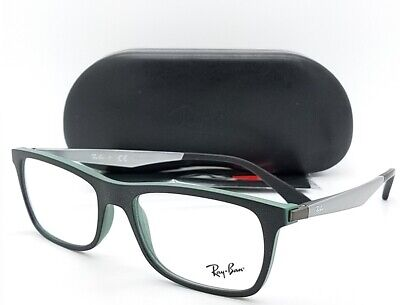 NEW Rayban Prescription Frame Black RX7062 5197 55mm 7062 AUTHENTIC wayfarer (New Wayfarer Prescription)