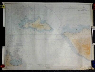 "1966 ""San Miguel Passage"" California Nautical C&GS Map / Chart 5116 - 30"" x 40"""