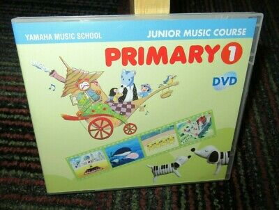 YAMAHA MUSIC SCHOOL: JUNIOR MUSIC COURSE PRIMARY 1 DVD, 33 MIN. NO WB, GUC for sale  Shipping to India