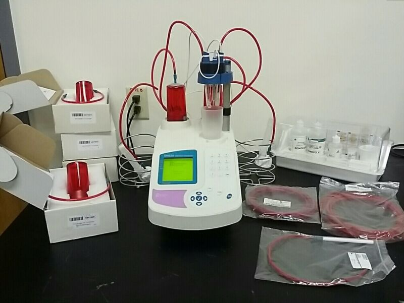 Radiometer Analytical TIM 856 Titralab Titration Manager And Accessories