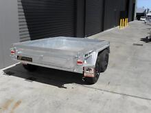 8x5 Galvanised H/Duty rocker tandem trailer with brakes Welshpool Canning Area Preview