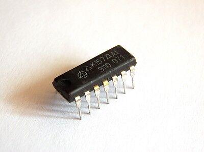 K157da1 2-channel Op Amp Driver For Vu Meter Qty2