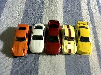 Hot Wheels lot of 5: Nissan SkylineGT-R R33, Datsun 240Z, Fairlady 2000, 370Z