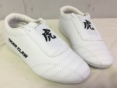 Tiger Claw White karate shoes Kids 1 martial arts