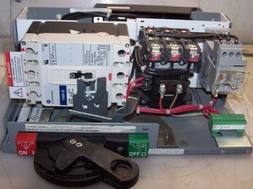 ALLEN BRADLEY 2100 SIZE 1 MCC BUCKET 500-BODX21  15 AMP BREAKER 140M-I8P-C15S-M