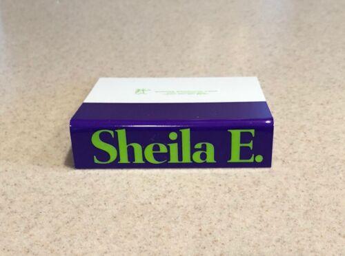 Sheila E. ULTRA RARE promo cassette shelf card