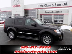 2012 Nissan Pathfinder LE Winter tires included