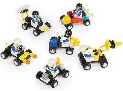 12 Race Car Building Block Brick Kit Vehicle lego-Theme Party Favors Lot (Race Car Theme)
