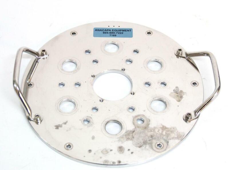 Broadley James Applikon B5-12103-8T9 15-20 Liter Bioreactor Headplate (7169) R