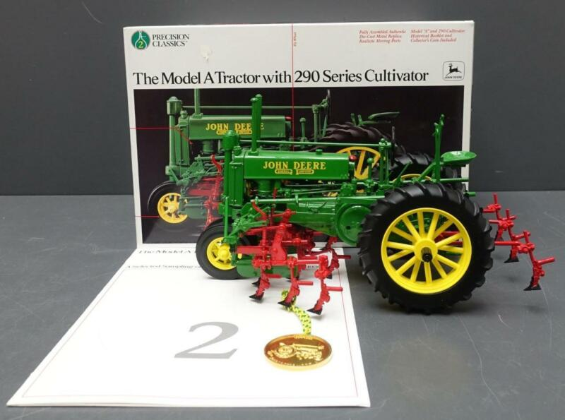 NEW ERTL 1/16 John Deere Model A Tractor w/290 Series Cultivator #5633 Precision