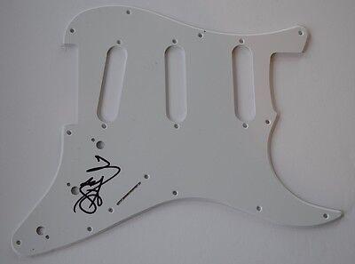 Rudy Sarzo Signed Autographed Electric Guitar Pickguard Quiet Riot Ozzy Coa