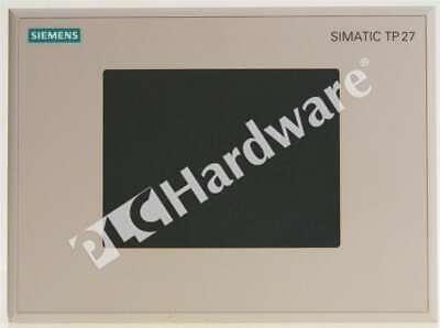Siemens 6av3627-1qk00-2ax0 6av3 627-1qk00-2ax0 Simatic Tp27-6 Touch Panel 24v Dc
