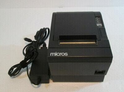 Epson M129c Tm-t88iii Pos Thermal Receipt Printer Serial  W Power Supply