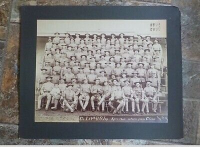 14th US Infantry Co. I 1900  Boxer Rebellion Manilla, P.I.