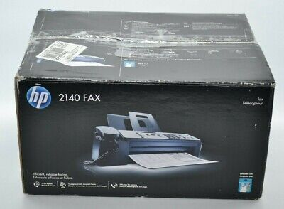 Hewlett-packard Hp 2140 Faxwith Box