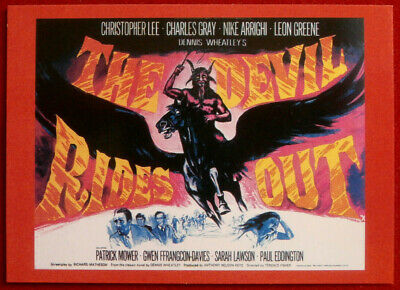 HAMMER HORROR - Series 2 - Card #100 - The Devil Rides Out - Cornerstone 1996