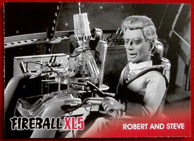 FIREBALL XL5 - Base Card #19 - ROBERT AND STEVE - Gerry Anderson - 2017