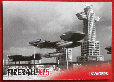 FIREBALL XL5 - Base Card #35 - INVADERS - Gerry Anderson - 2017
