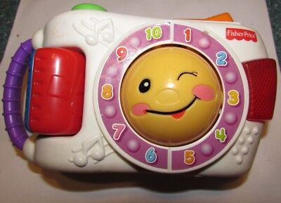 Fisher Price Learning Camera Laugh Learn Sing Along ABC Colors toy Christmas