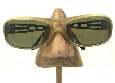 Vintage Sting 6066 U12 Brown Oval Eyeglasses Sunglasses Frames (Sting Vintage Sunglasses)