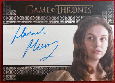 GAME OF THRONES - HANNAH MURRAY, Gilly, VALYRIAN AUTOGRAPH Card Rittenhouse 2016