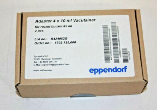 Eppendorf 022639269 Rotor Adaptor 4x10 ml Vacutainer Pk/2