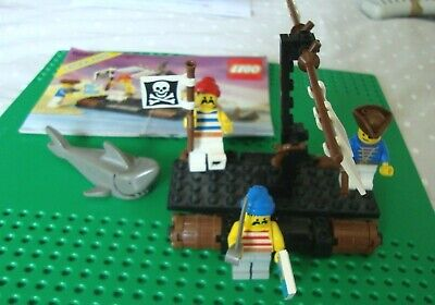 LEGO Pirates Castaway's Raft (6257) (Vintage) 100% complete with instructions
