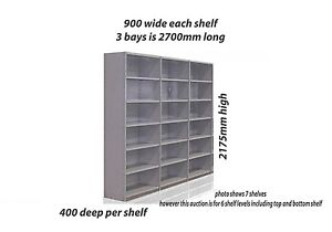 Brand New Colby RET Steel Shelving - x3 Bays Penrith Penrith Area Preview