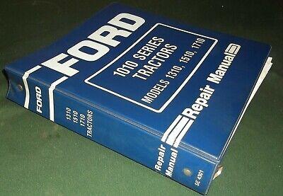 Ford 1310 1510 1710 Offset Tractor Service Repair Shop Manual Oem Original