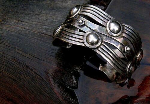 William Spratling River of Life 980 Silver Cuff Bracelet 1930
