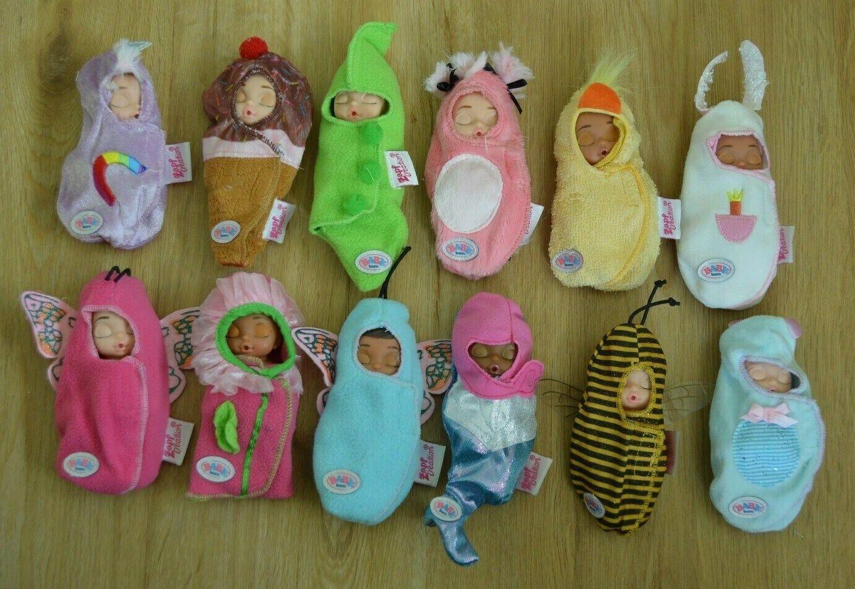 Zapf BABY Born® Surprise Serie 1 aussuchen aus allen 12 Puppen oder komplett Set